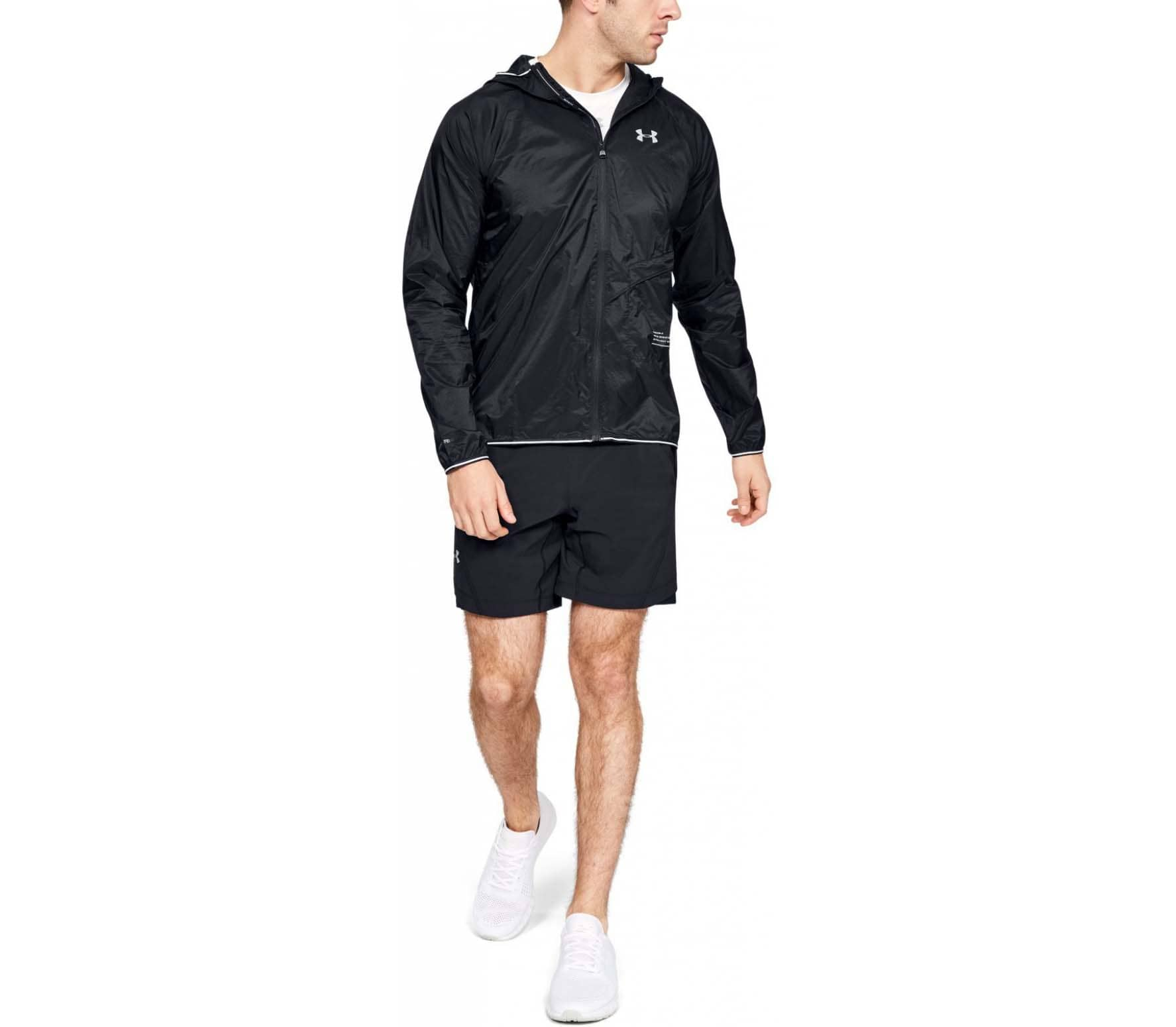 690a2f06f237 Under Armour Qualifier Storm Packable Men Running Jacket black