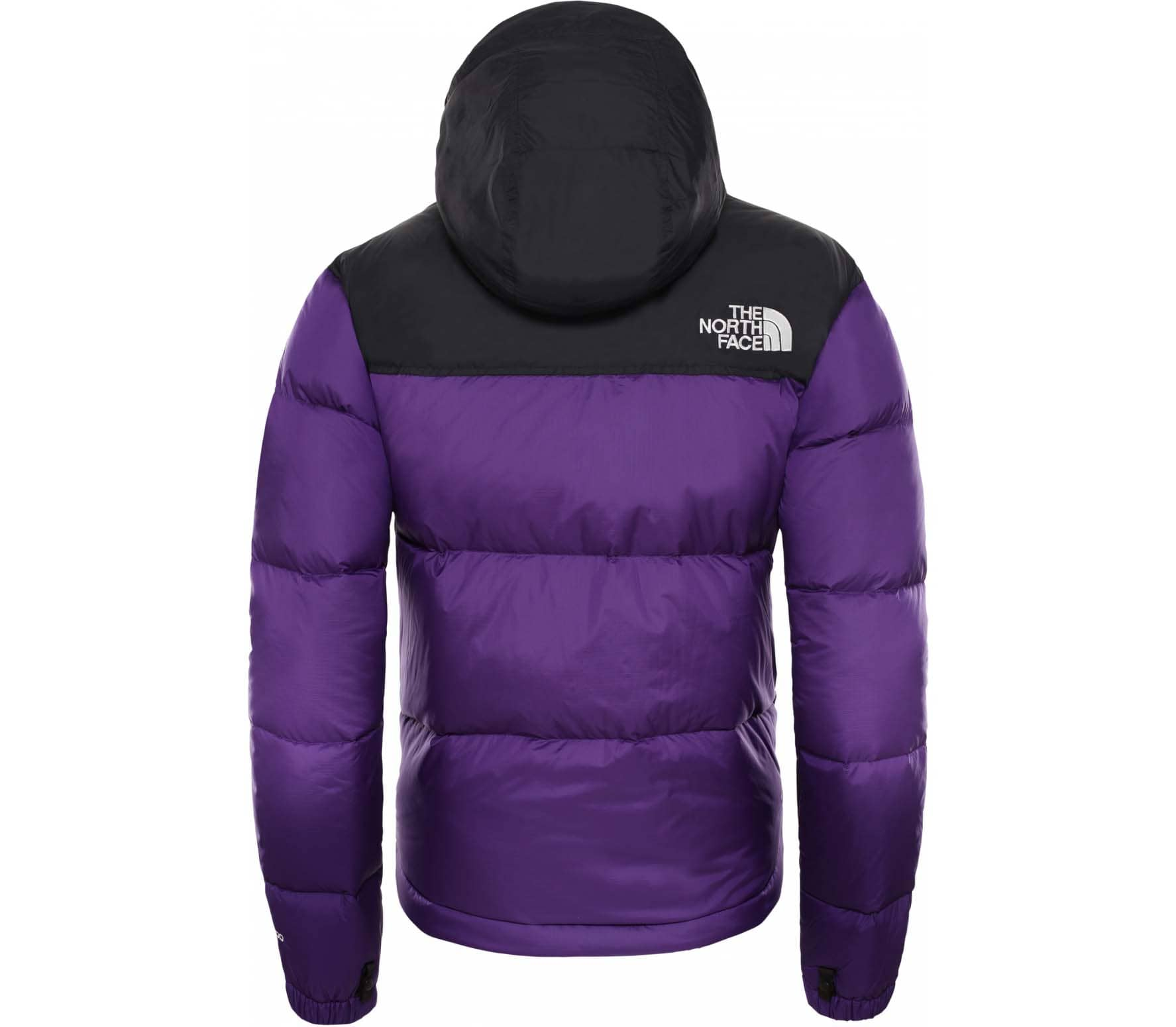 Face Lila Damen The North Retro Nuptse 1996 Daunenjacke