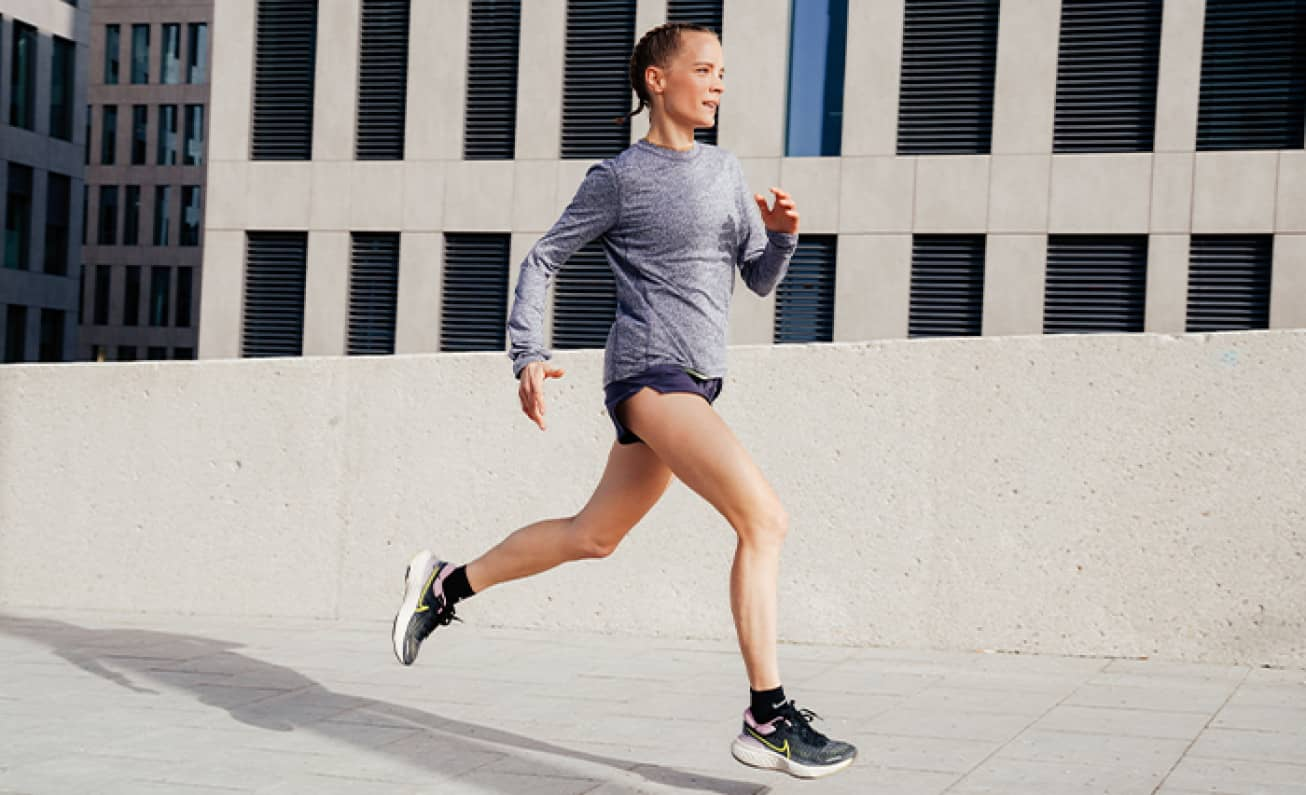 Functional running clothes