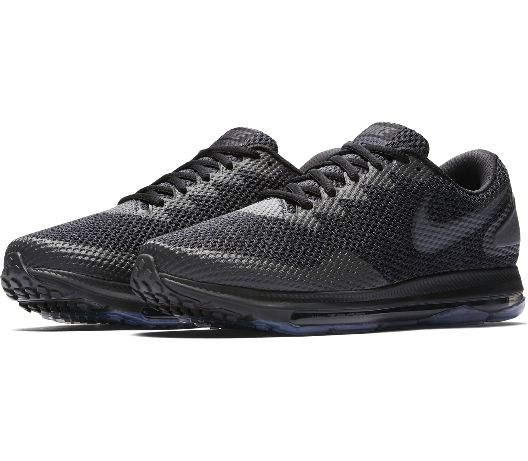 Nike Zoom All Out Low 2 Hombre Zapatos para correr (negro/gris