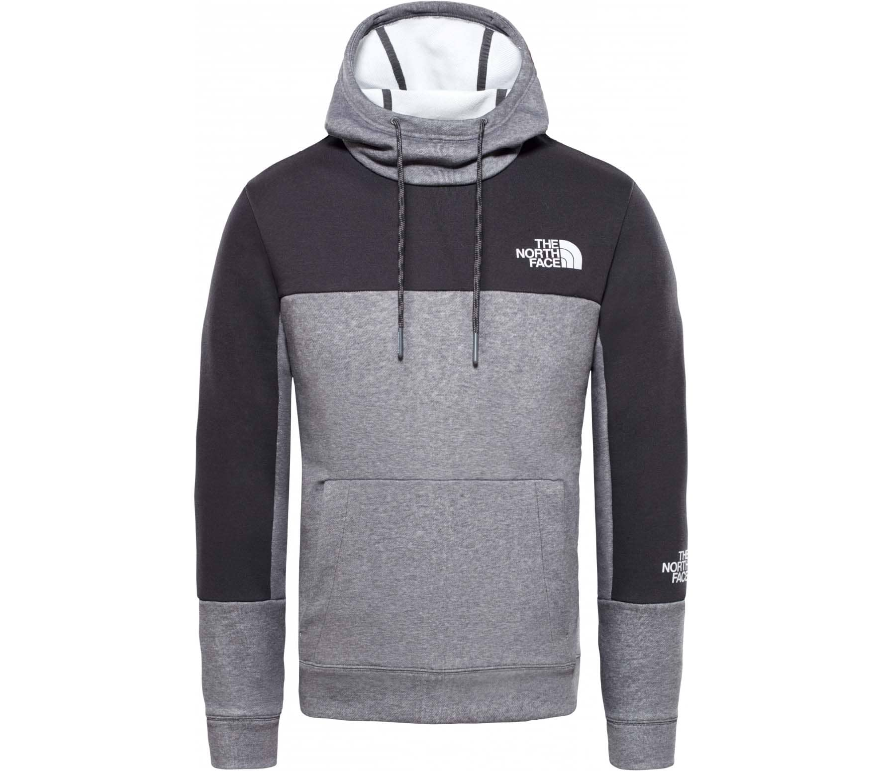 size 40 86af2 4c4fc The North Face Light Herren Hoodie grau