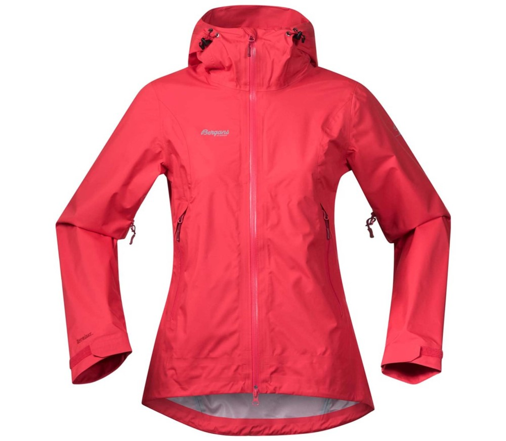Bergans Letto Women Outdoor Jacket red