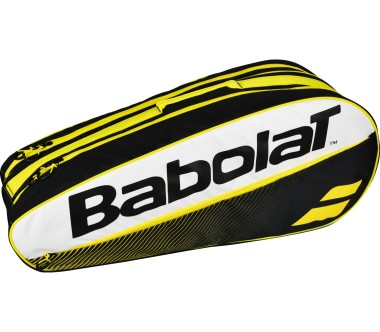 Babolat - Racket Holder X6 Classic tennis bag (white/yellow)