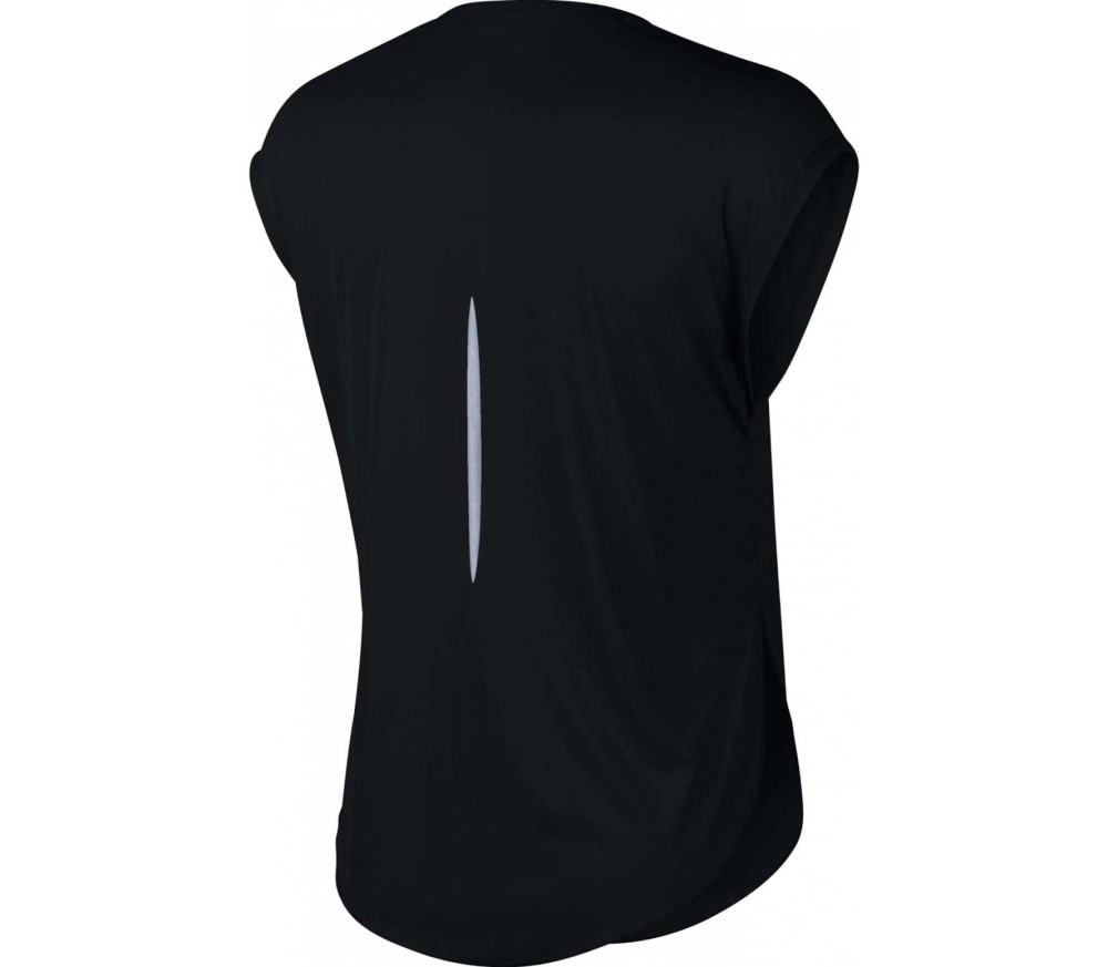 Nike - City Sleek Damen Laufshirt (schwarz)