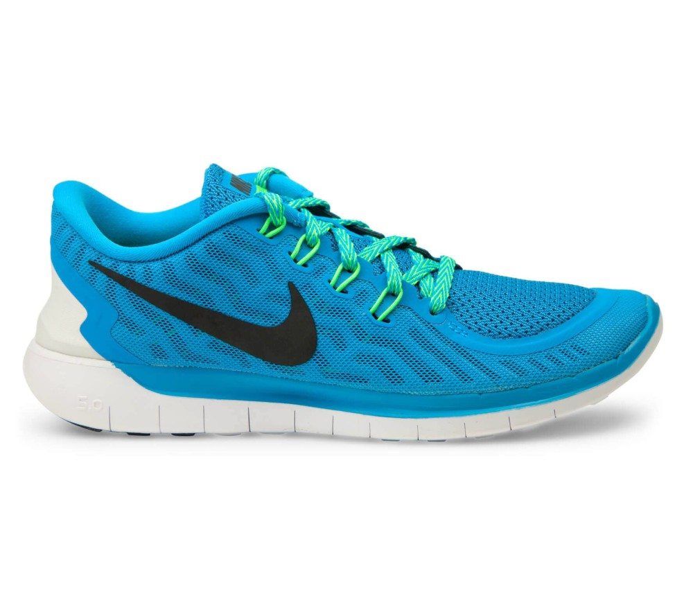sports shoes 70e85 f3b1d Nike - Free 5.0 Damen Laufschuh (blauschwarz)