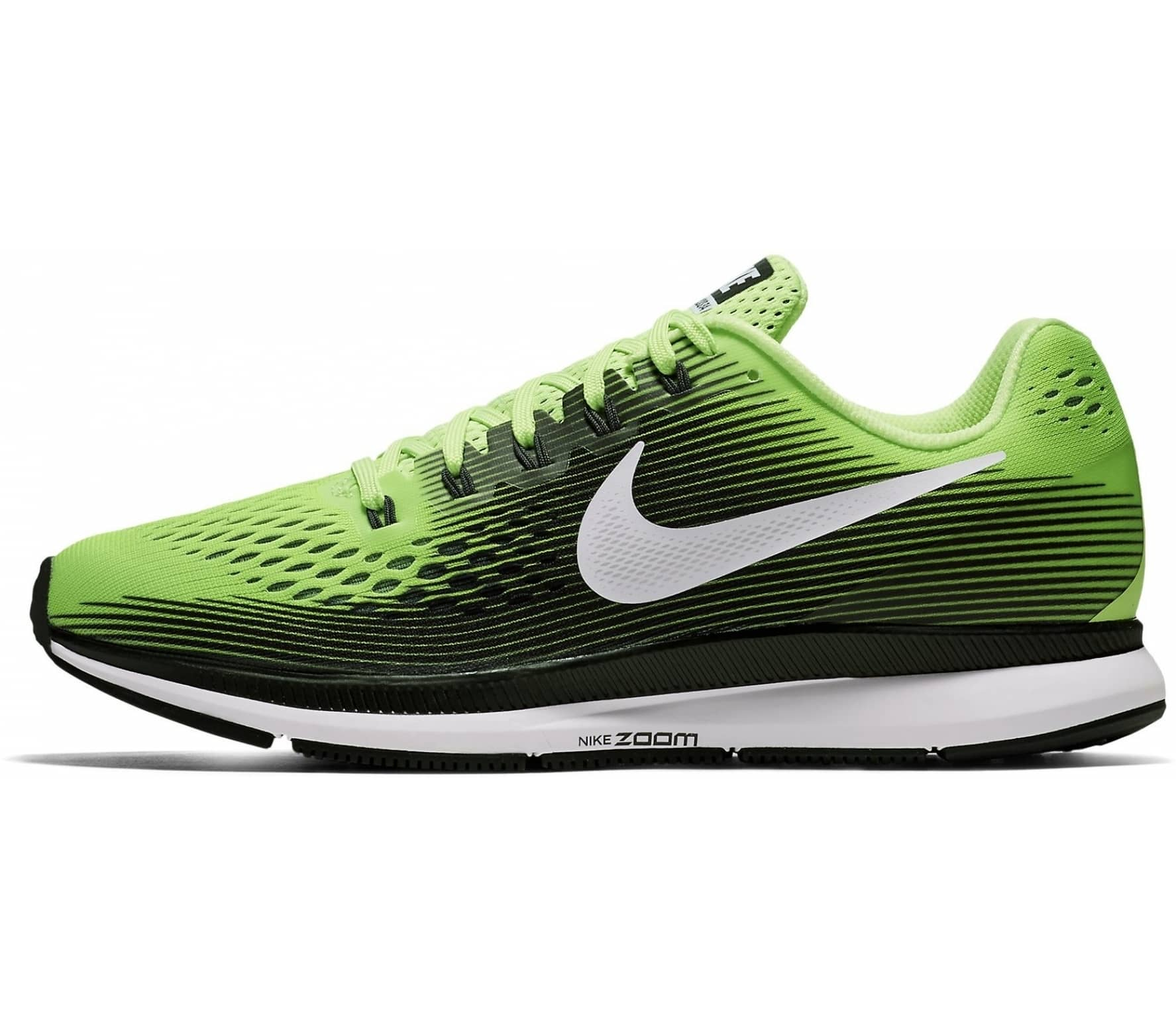 d0f7017cf5c93 ... norway nike air zoom pegasus 34 mens running shoes black green 11803  d8f5c ...