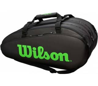 Tour 3 Comp Bk/Green Unisex Tennis Bag