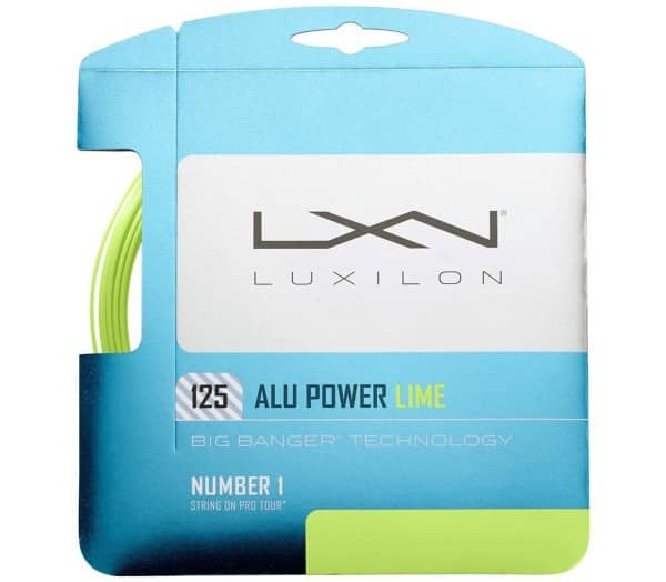 LUXILON Alu Power 12m Tennissaite - 1