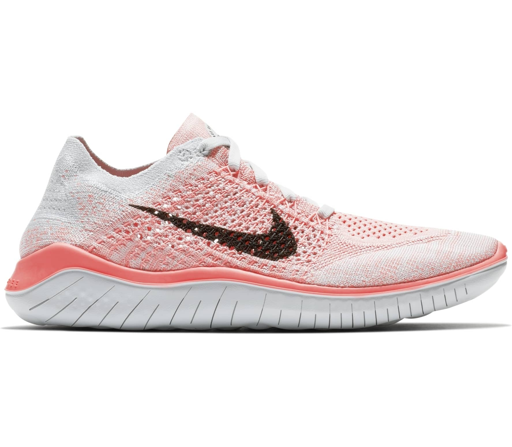 san francisco a8292 9bf99 Nike - Free RN Flyknit 2018 womens running shoes (pinkwhite)