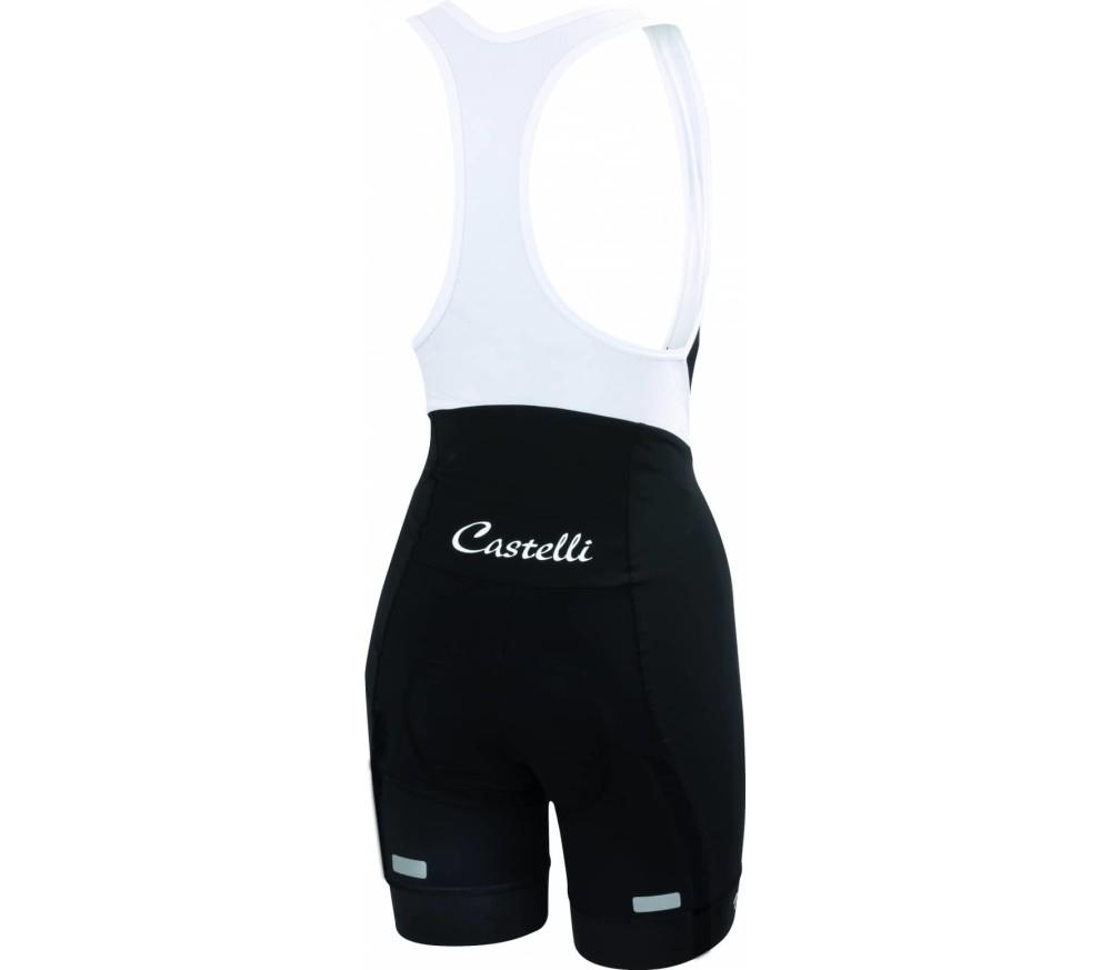 Castelli - Velocissima Damen Radhose mit Träger (schwarz)
