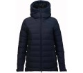 Peak Performance - Spokane women's down jacket (blue)