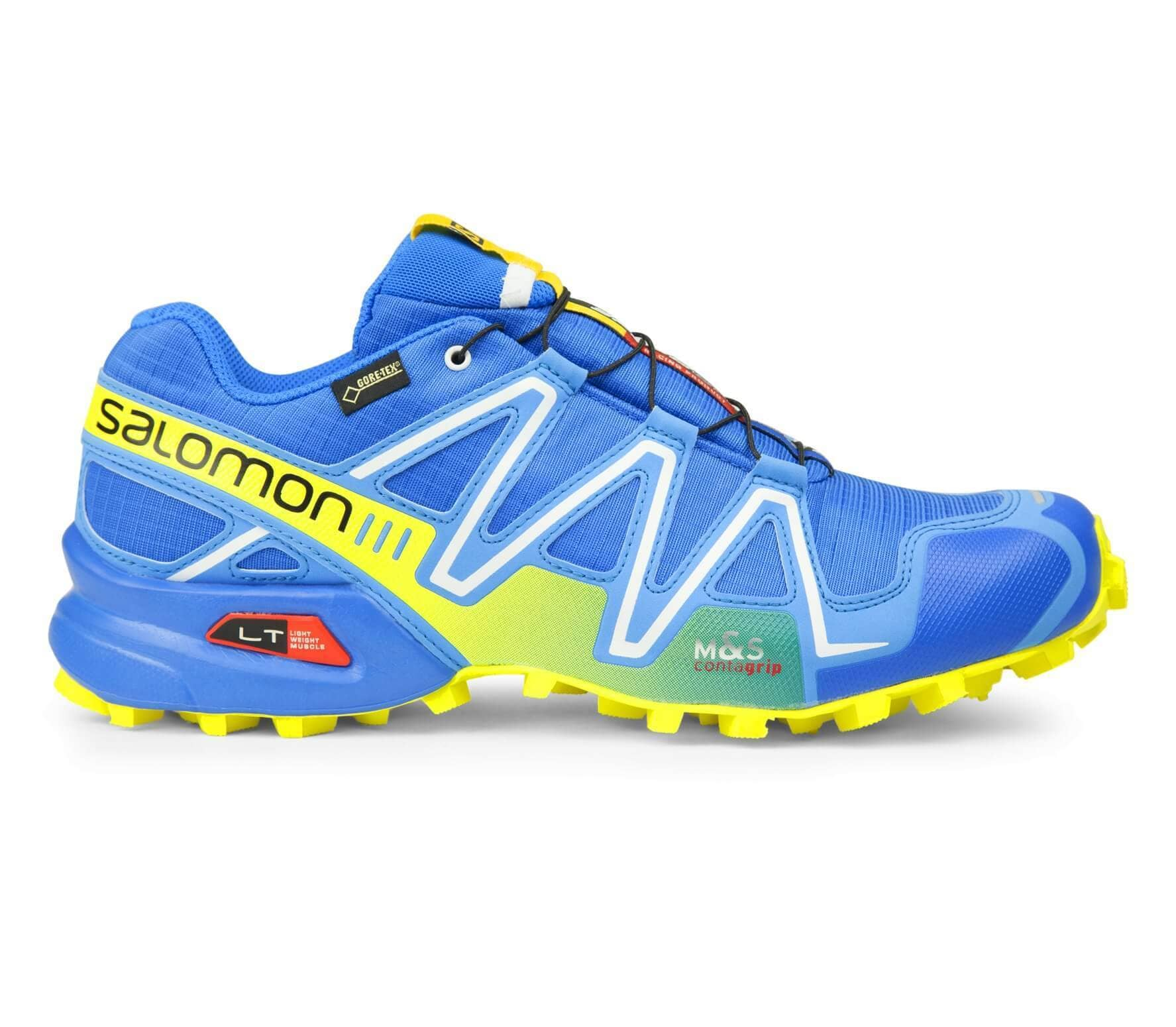 hot sale online c5cbb f5980 Salomon - Speedcross 3 GTX men s running shoes (blue green)