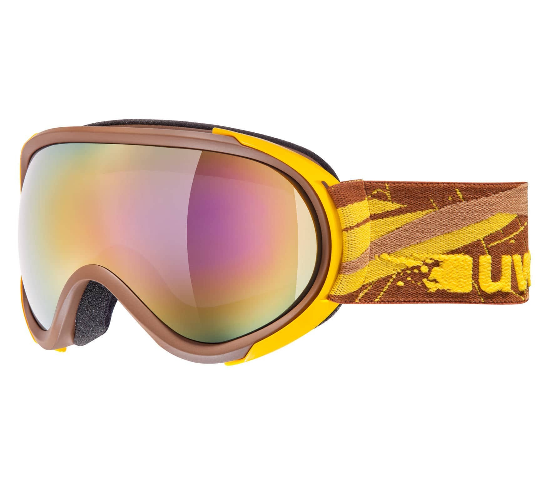 0611b5913ba Uvex - G.gl 7 men s skis- and Snowboardbrille (brown yellow) - buy ...