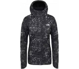 QST PRNT Women Rain Jacket