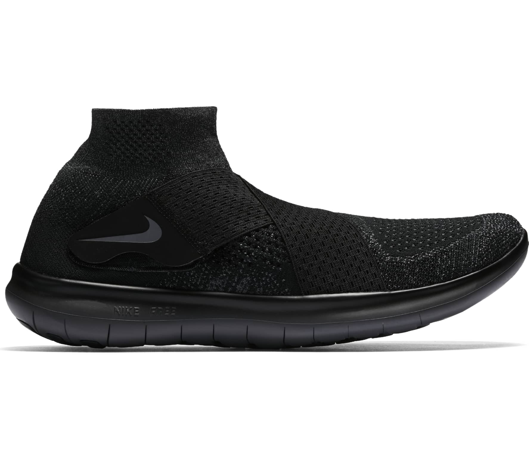 100% authentic 7299e 6fa6a Nike - Free RN Motion Flyknit 2017 men s running shoes (black)