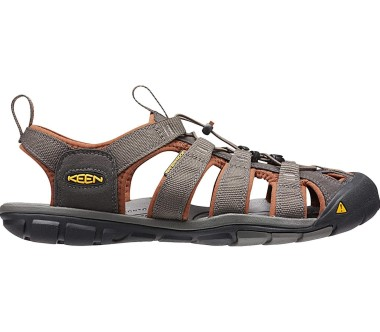 Keen - Clearwater CNX Herren Outdoorsandale (braun/orange)