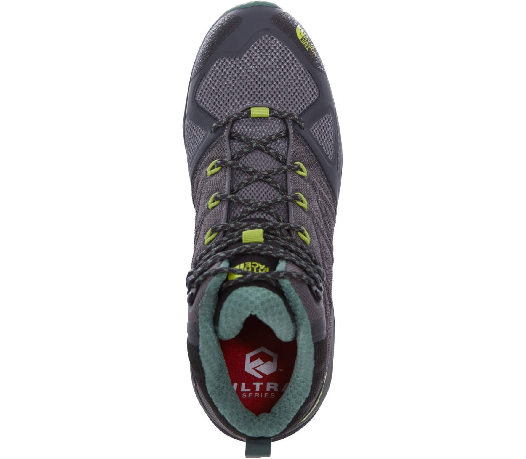 6b6e3d193 The North Face Ultra Fastpack II Mid GTX men's hiking shoes Men silver