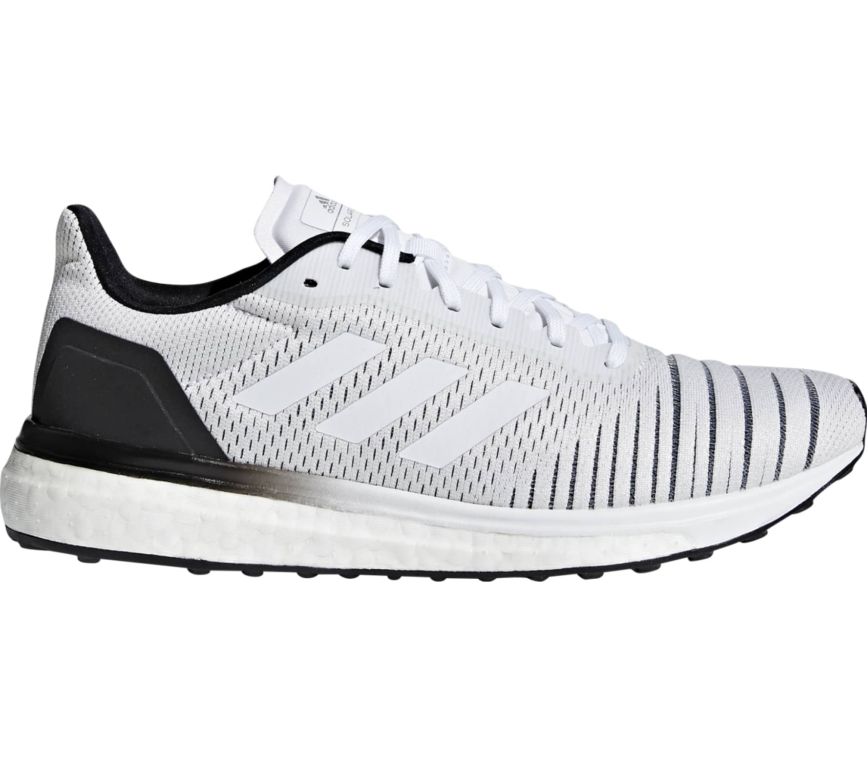 finest selection fc6d5 577fd Adidas - solar drive Mujer Zapatos para correr (blanco negro)