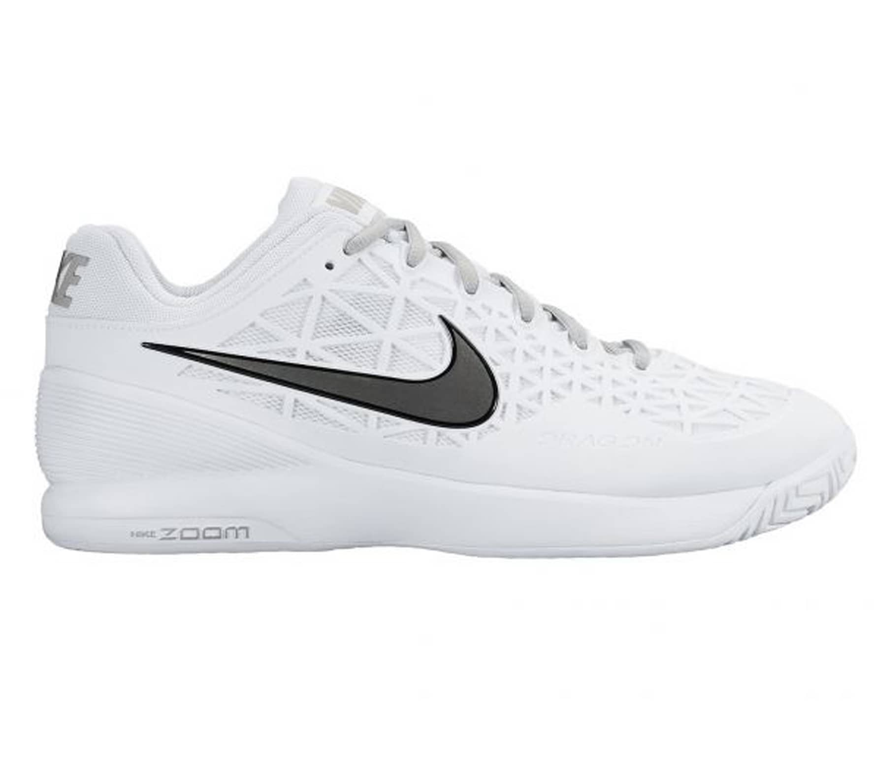 info for 7df05 76266 Nike - Zoom Cage 2 Dam tennis Shoe (vit silver)