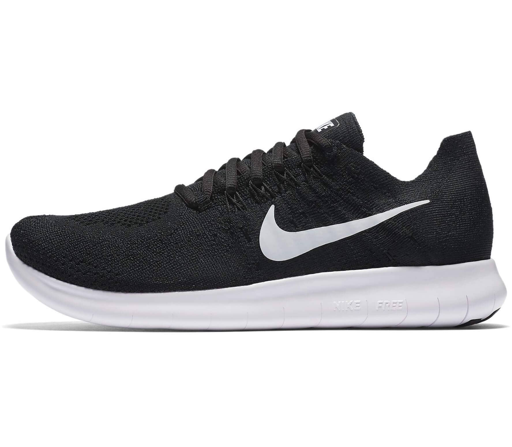 huge discount e1963 4b61e Nike - Free RN Flyknit 2 women s running shoes (black white)