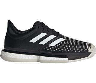 huge selection of 3380a 32545 adidas Performance - Sole Court Boost Clay Heren Tennis schoen (zwartwit)