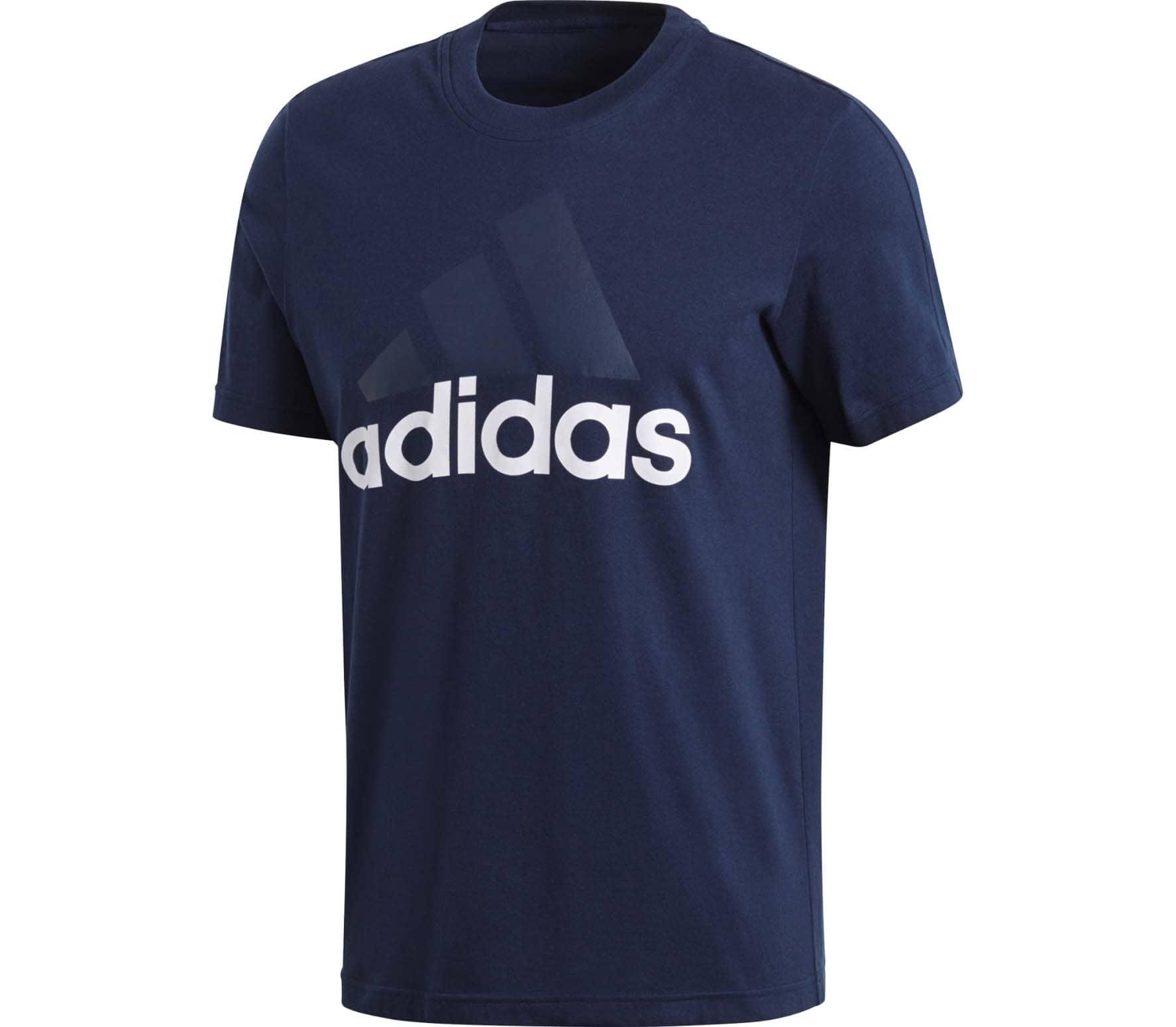 adidas Performance - Classics SW Identity Herr t-skjorta (blå) - M