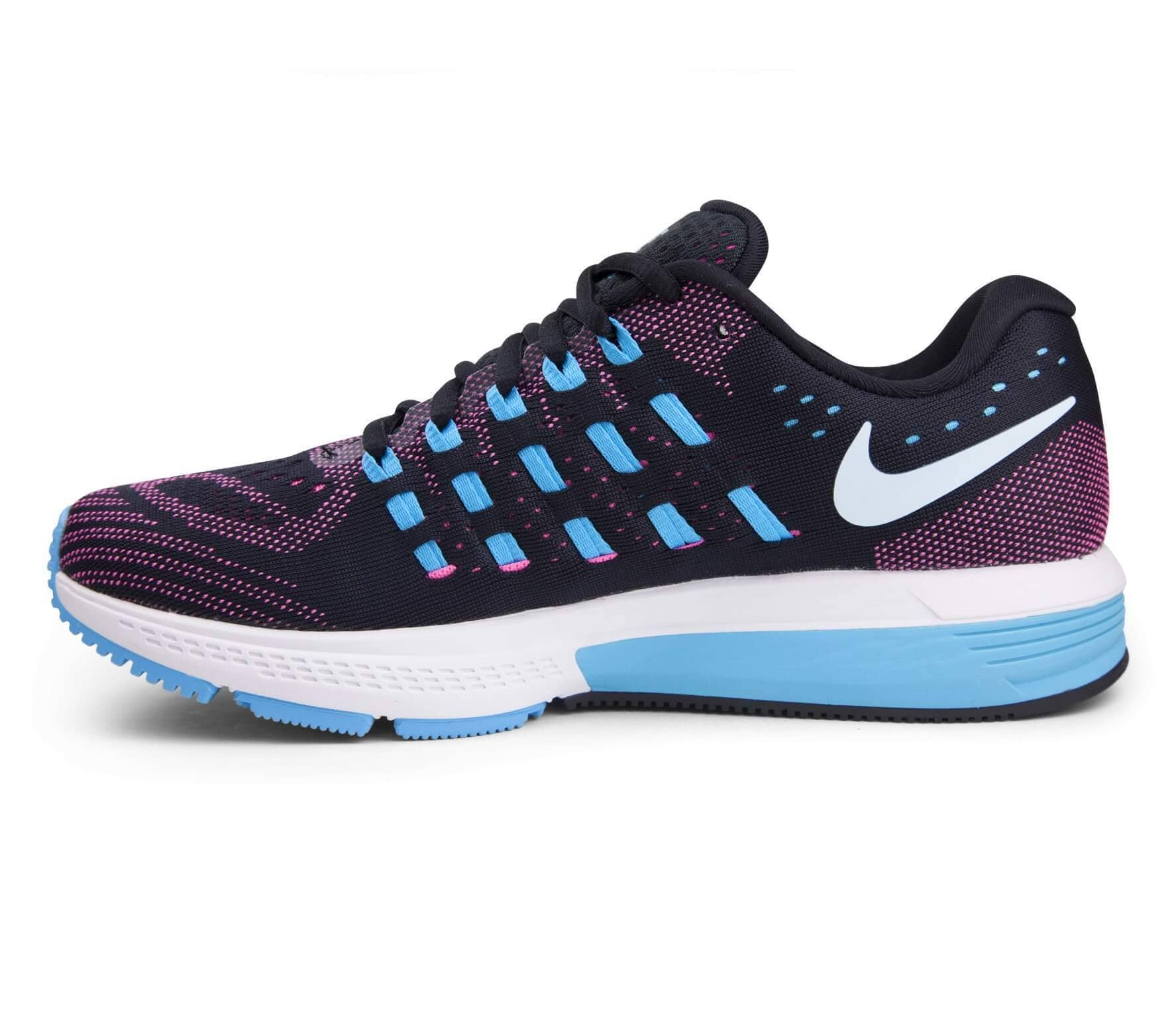 fbdda827596ce5 Nike - Air Zoom Vomero 11 women s running shoes (black light blue ...