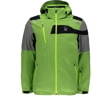 Spyder - Titan men's skis jacket (green/grey)