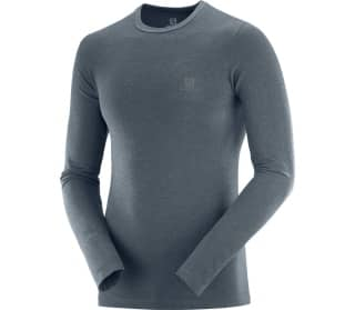 Salomon Outline Seamless Crew Men Long Sleeve