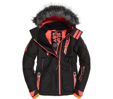 Superdry - Ultimate Snow Action women's skis jacket (black)