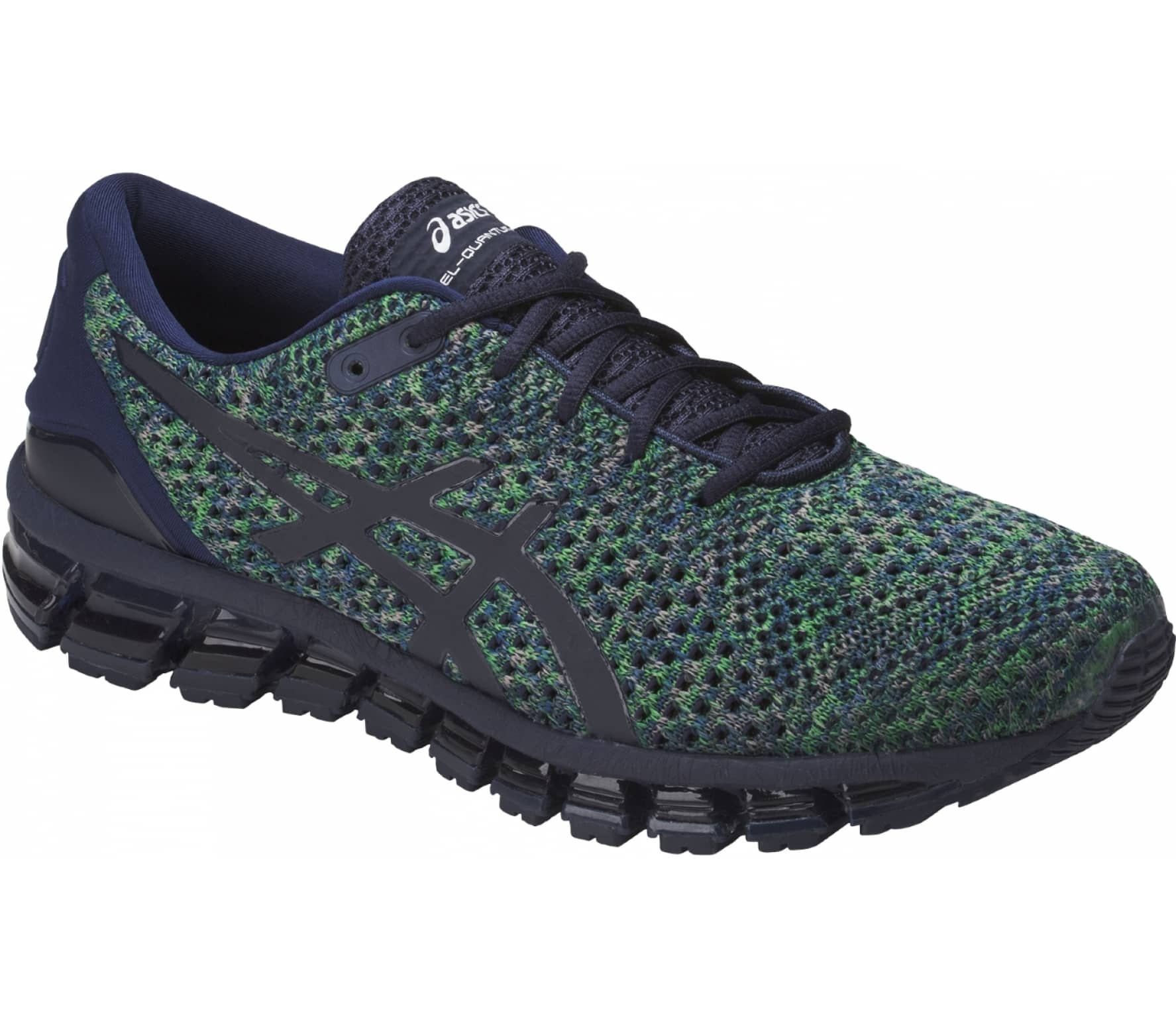 ASICS - GEL-Quantum 360 Knit 2 men s running shoes (dark blue green ... e02a5f3b38
