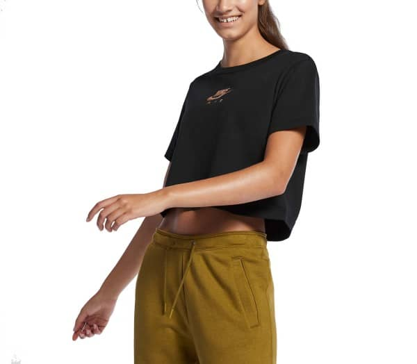 NIKE SPORTSWEAR Air Top SS Crop Mujer Camiseta - 1