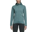 adidas Performance - Freelift CH hooded Dames trainingsjas (turkoois)