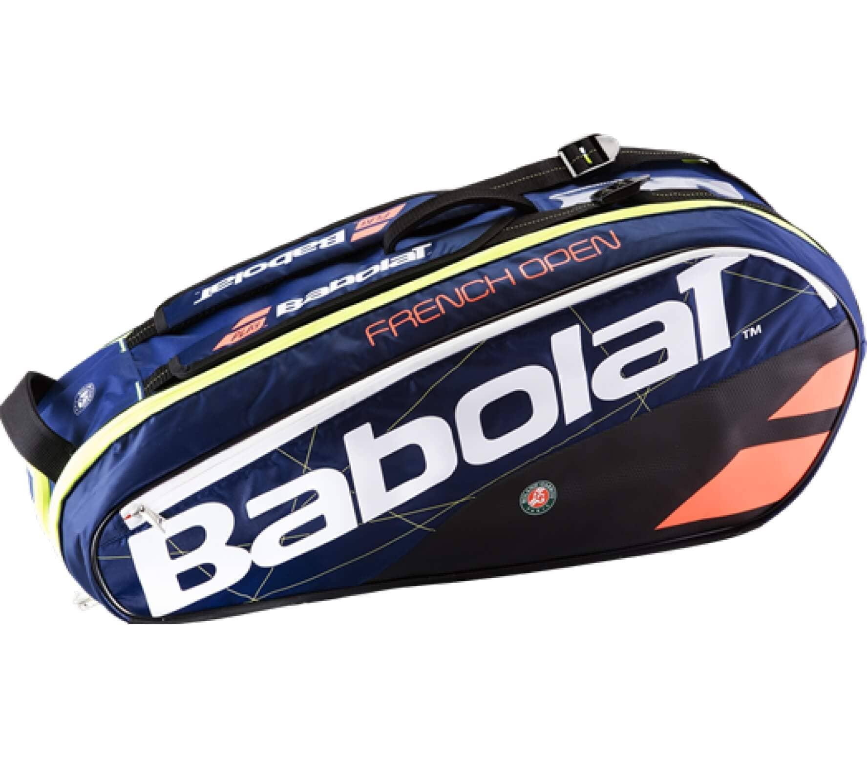 Babolat - Racket Holder X6 Pure French Open Tennistasche (blau/rot)