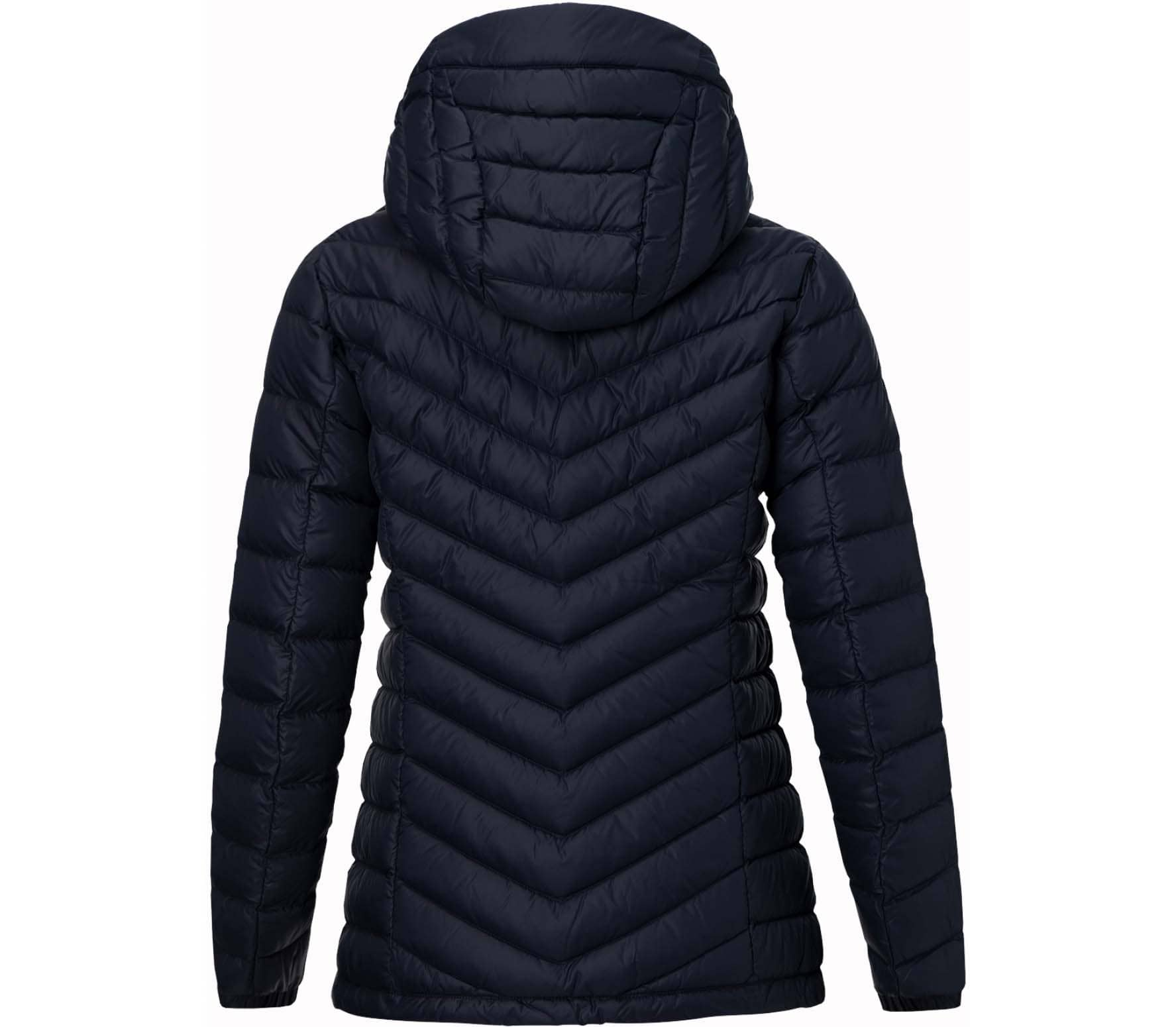 Peak Performance - Frost Hood Pertex women's down jacket (blue)