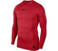 Nike Pro Men Training Top red