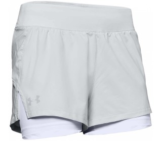 Launch 2in1 Dames Hardloopshorts
