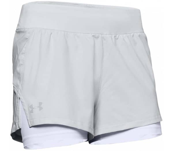 UNDER ARMOUR Launch 2in1 Damen Laufshorts - 1