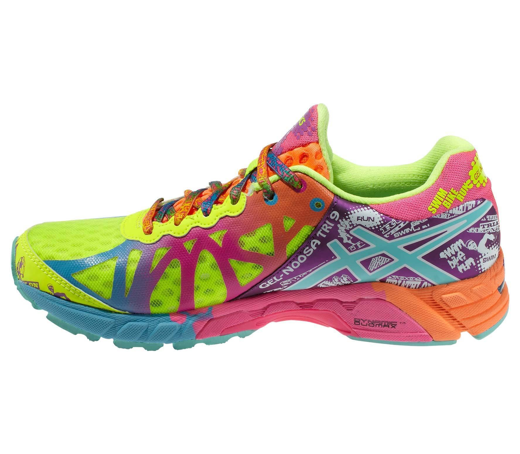 sports shoes b8187 680a9 Asics - Gel-Noosa Tri 9 women s running shoes (yellow purple)