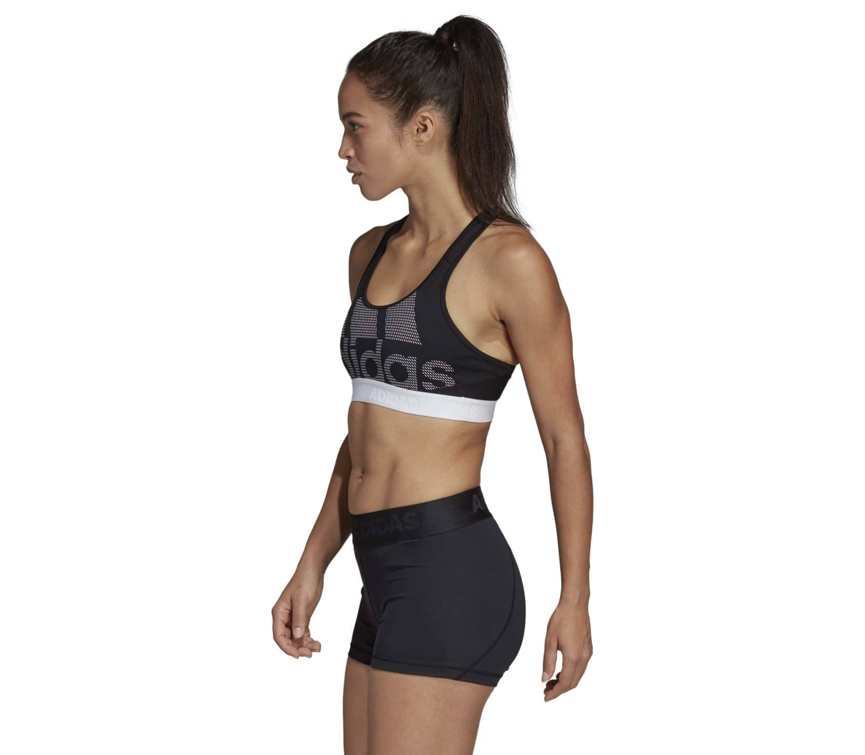adidas Performance - Don t Rest Alphaskin Sport Damen Trainingsbra (schwarz  weiß) b40d728543d