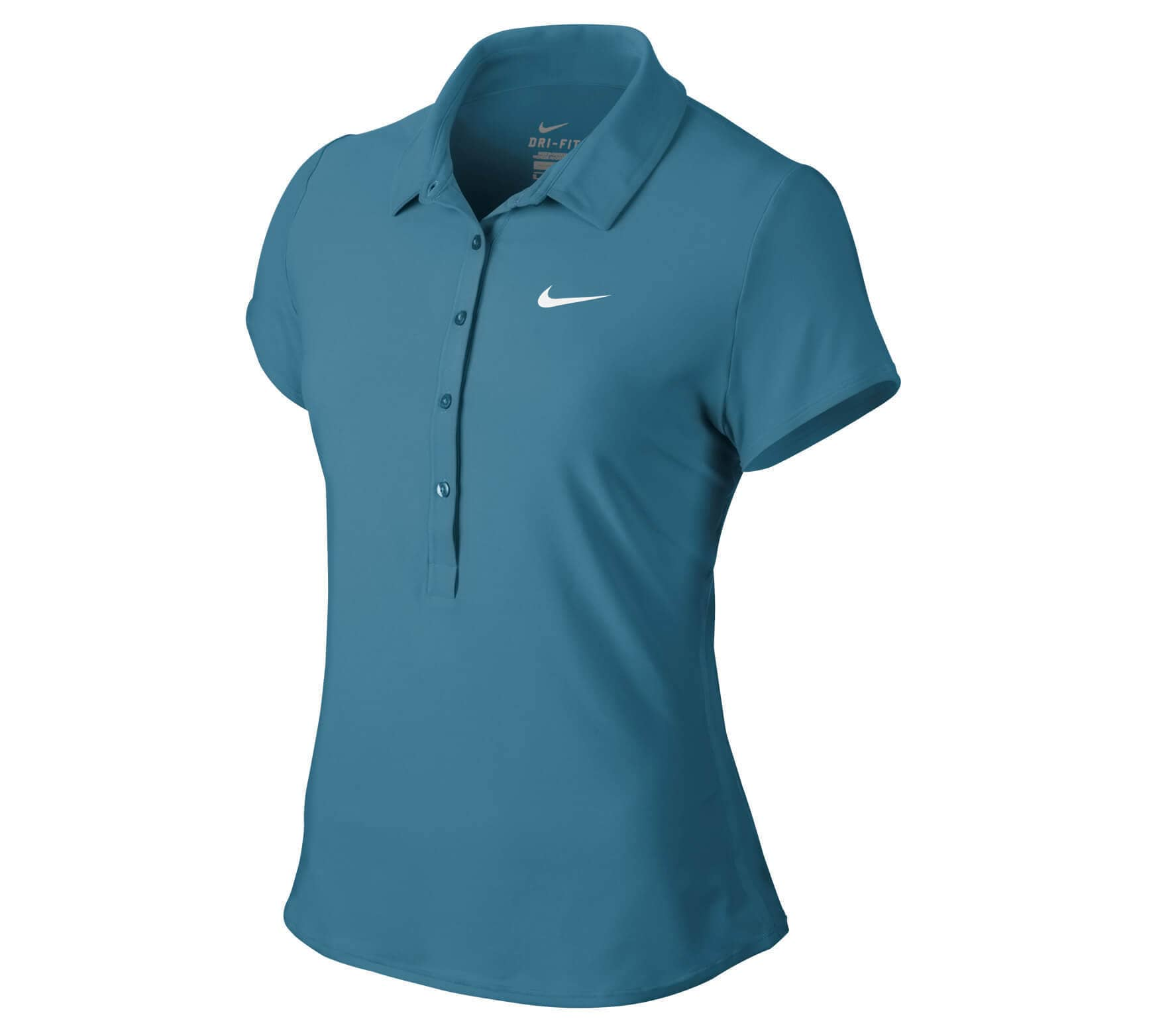 Nike - Advantage Polo women s tennis polo top (blue) - buy it at the ... ca4e1f84012e