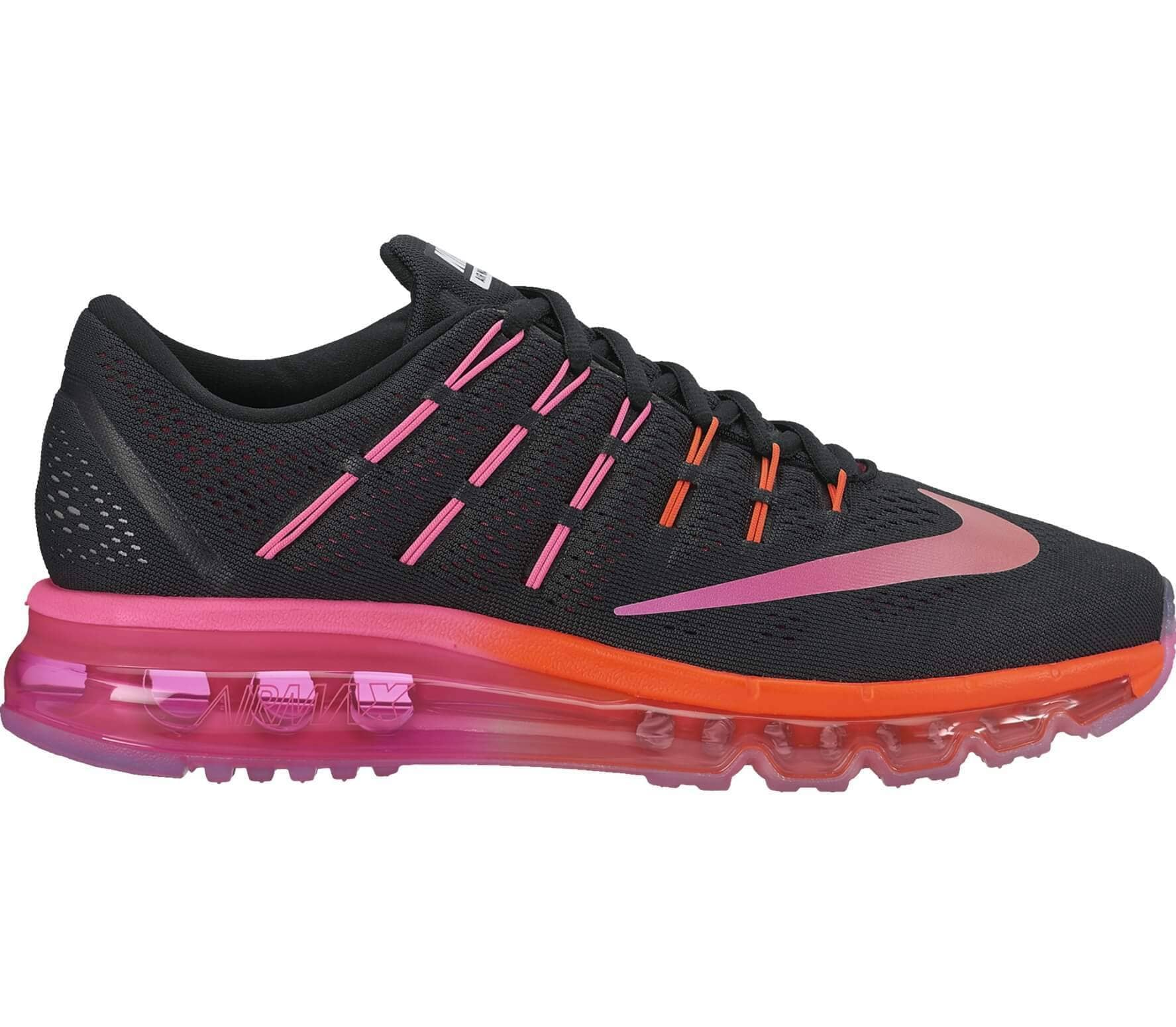 8d5f2439fd Nike - Air Max 2016 women's running shoes (black/pink) - buy it at ...