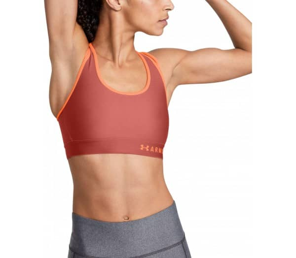 Under Armour Womens Armour Mid Crossback Strappy Sports Bra