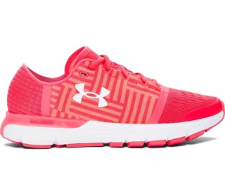 Under Armour - Speedform Gemini 3 Donna scarpe da corsa (luce rossa/bianco)