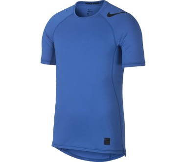 Nike - Pro Hyper Cool Heren training overhemd (blauw)