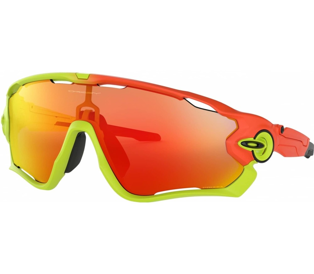 oakley jawbreaker bike brille orange im online shop. Black Bedroom Furniture Sets. Home Design Ideas