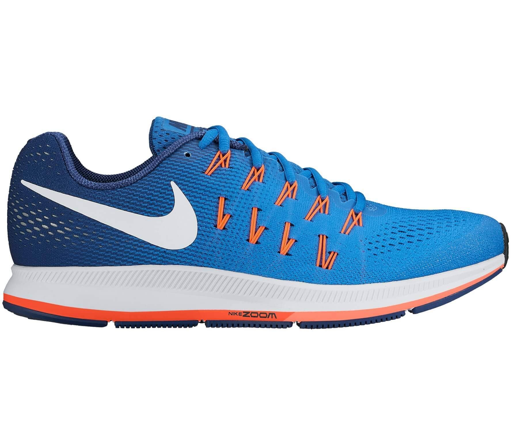 hot sale online 66706 b5560 Nike - Air Zoom Pegasus 33 men s running shoes (blue orange)