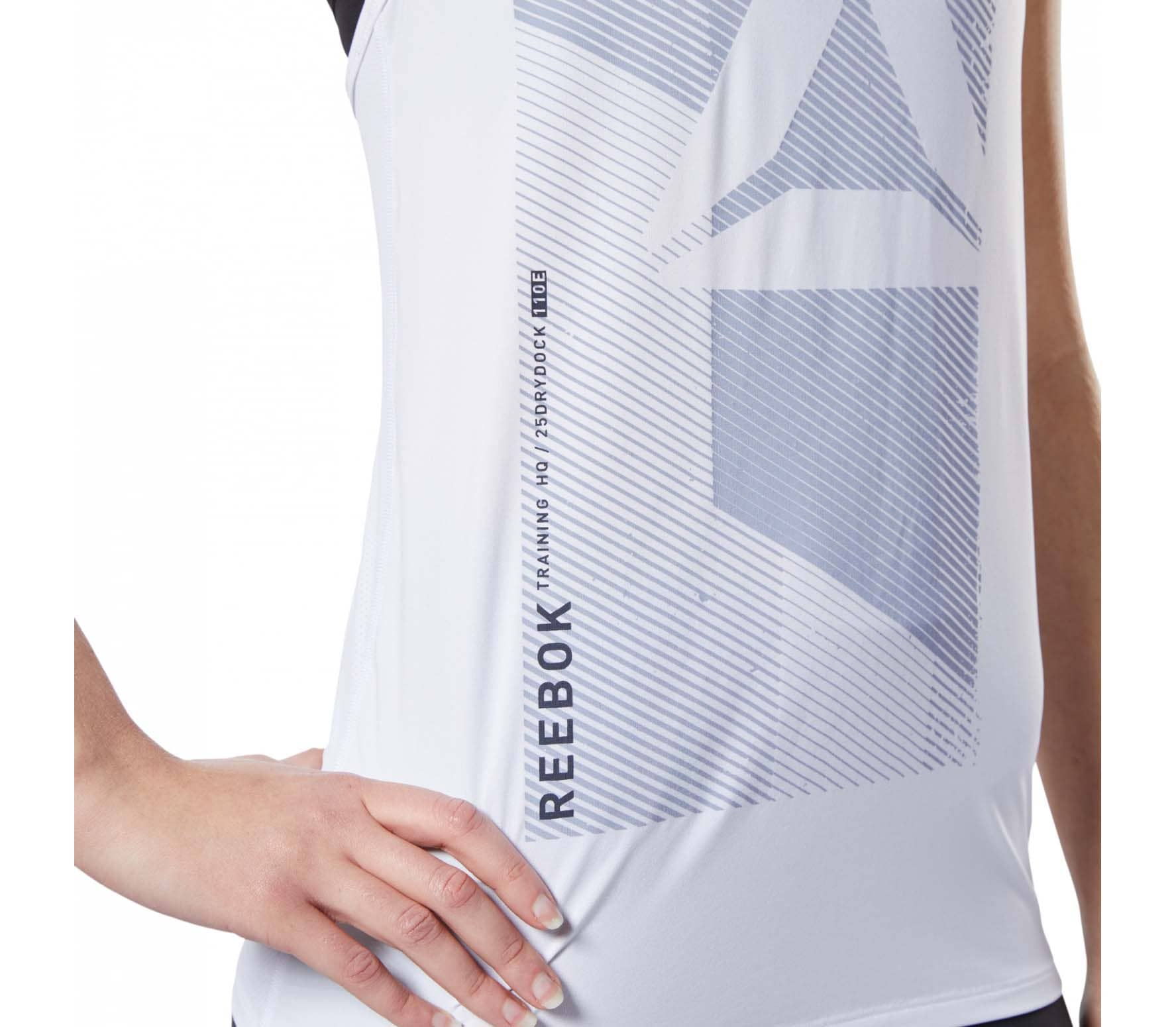 Reebok Ost AC Graphic Women Training Top white