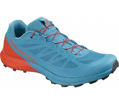 Salomon - Sense Pro 3 men's running shoes (blue/orange)