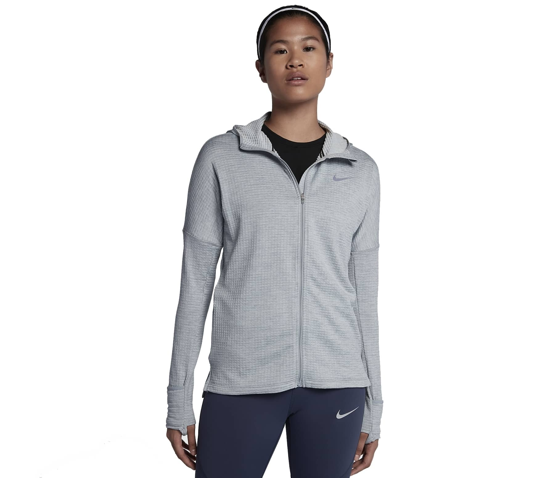 finest selection 7c637 8a912 Nike - Therma Sphere Element women s running hoodie (grey)